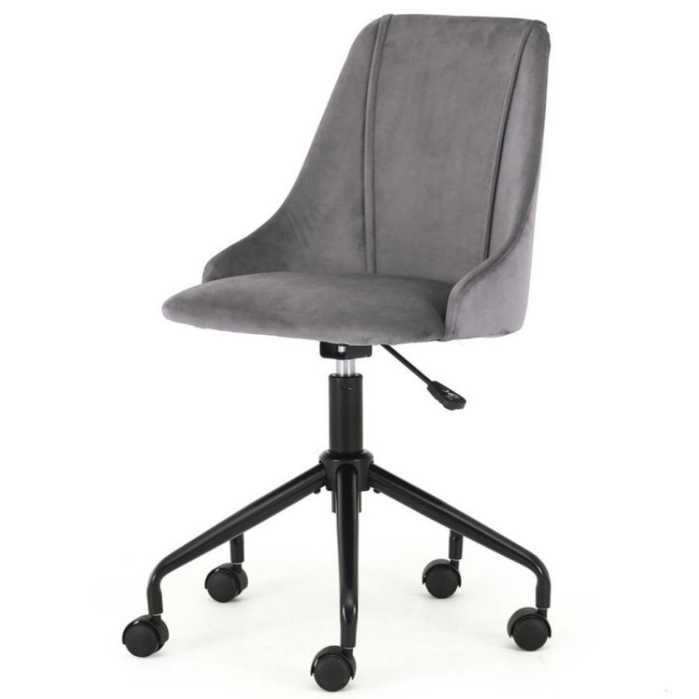 Fotel biurowy Alvito popielaty
