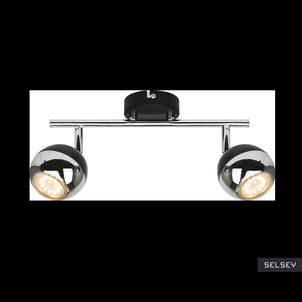 Lampa sufitowa Ceylon czarna x2