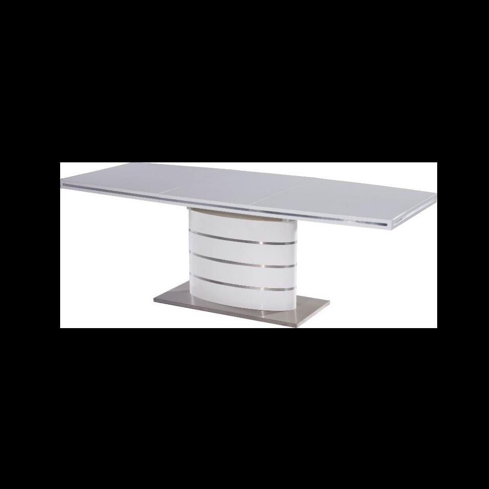 Stół rozkładany Vaster 180-240x100 cm biały