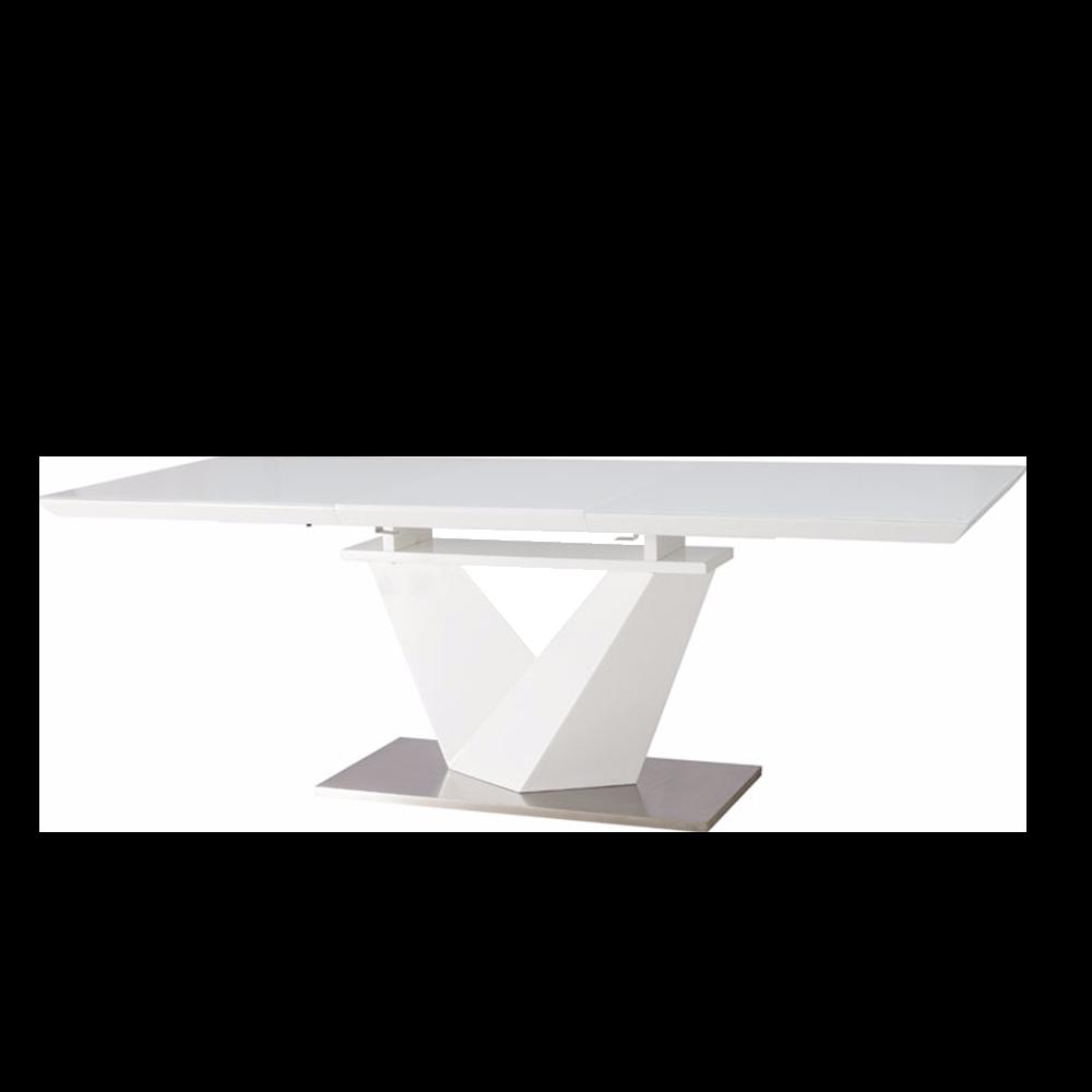 Stół rozkładany Aramoko III 160-220x90 cm biały