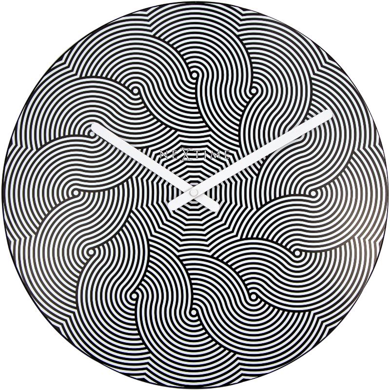 Zegar Waves średnica 39,5 cm