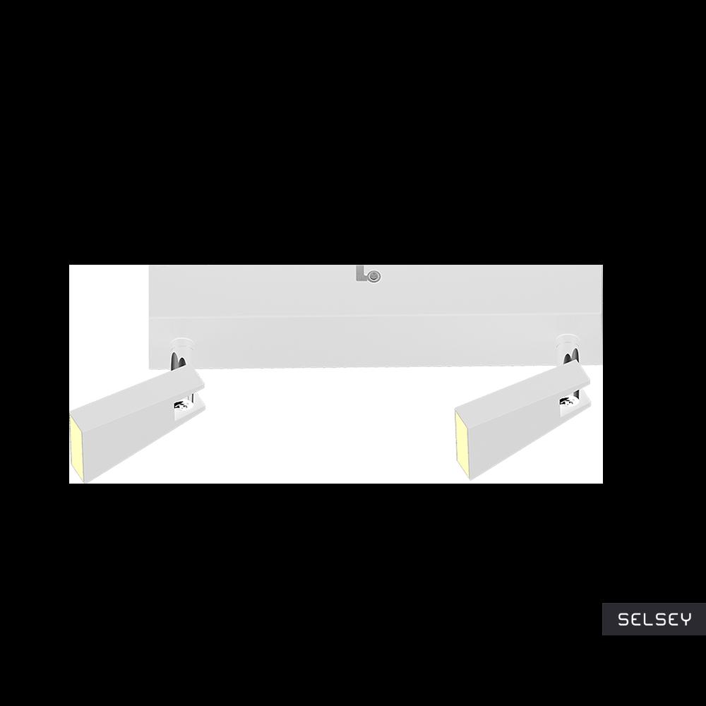 Lampa sufitowa Vanessa biała x2
