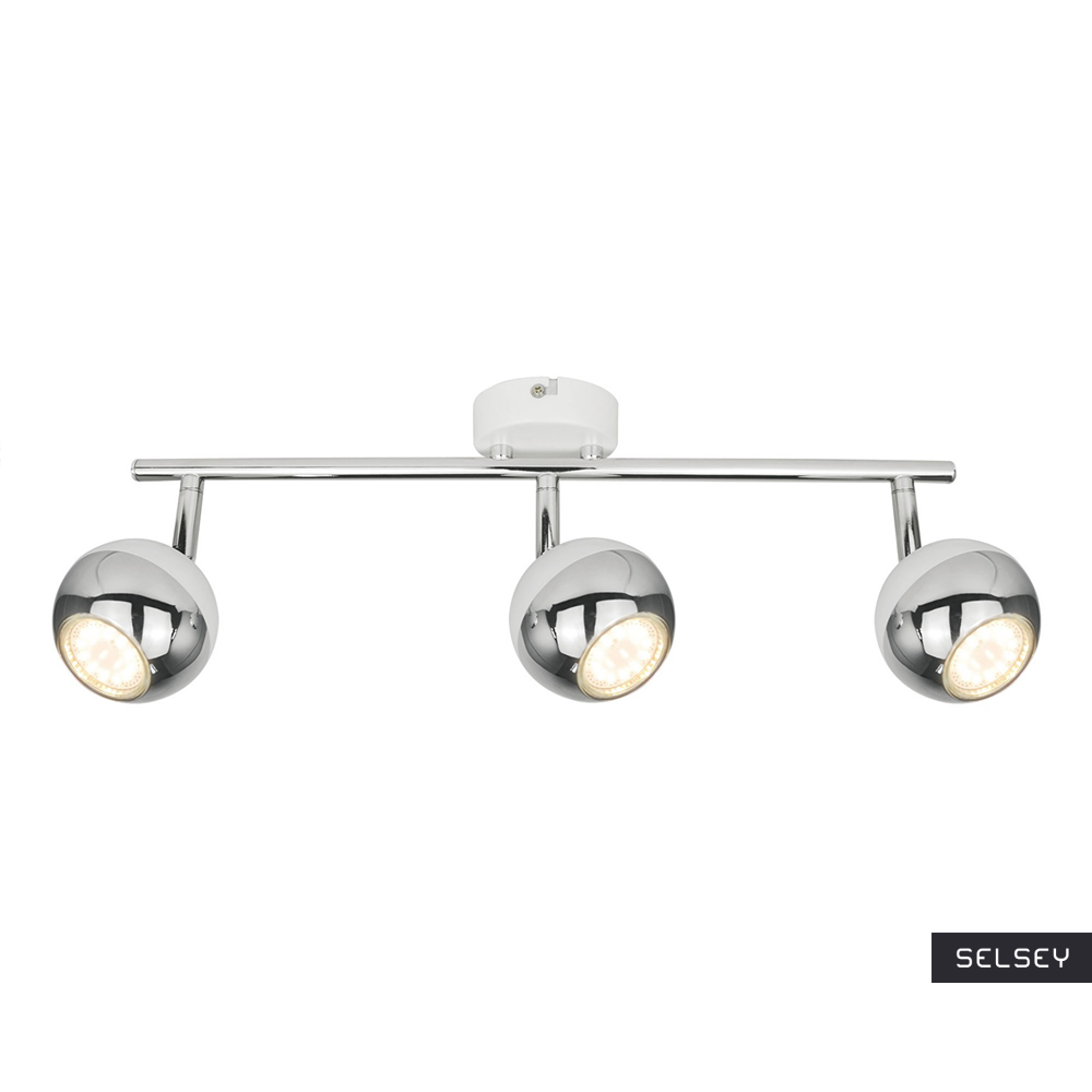 Lampa sufitowa Ceylon biała x3