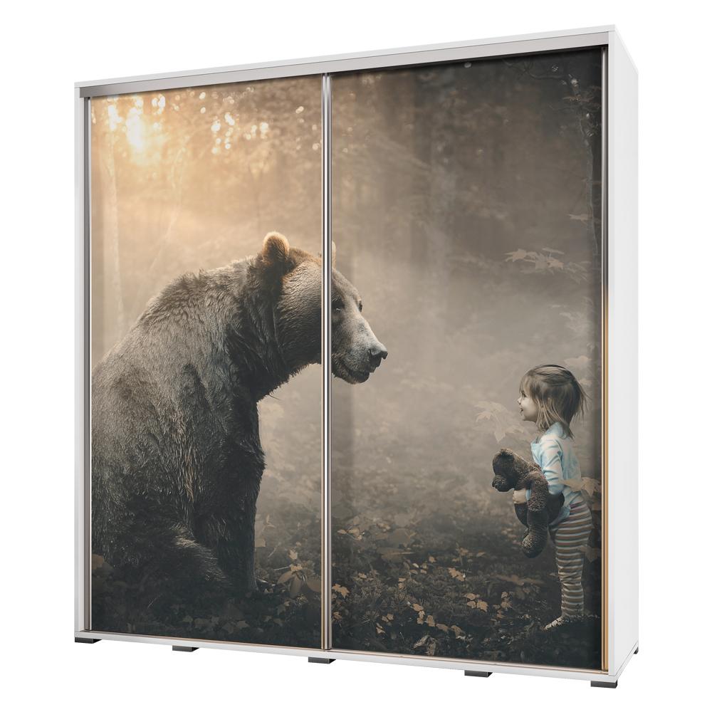 Szafa Wenecja 205 cm Przyjazny niedźwiedź