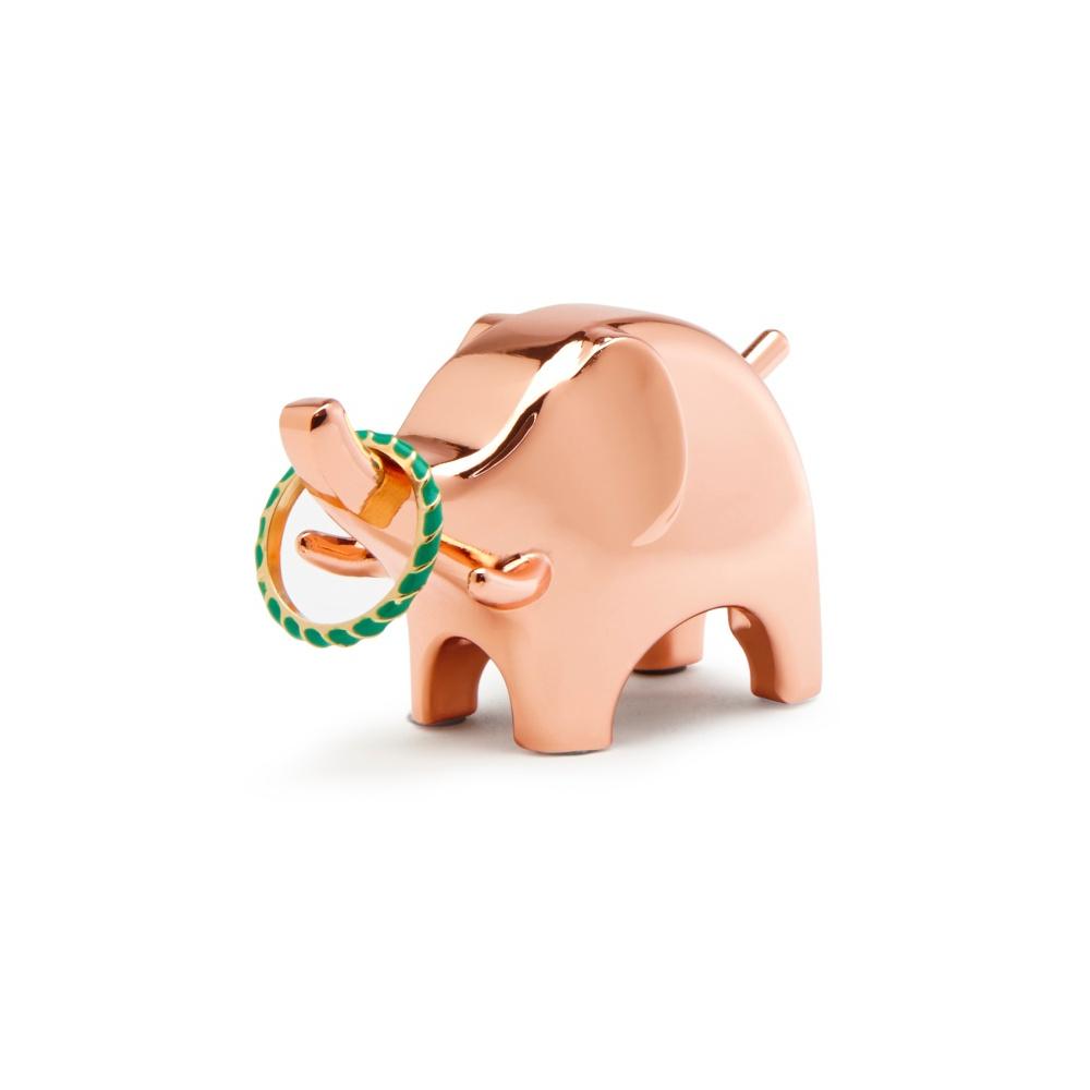 Stojak na biżuterię Anigram Słoń miedziany