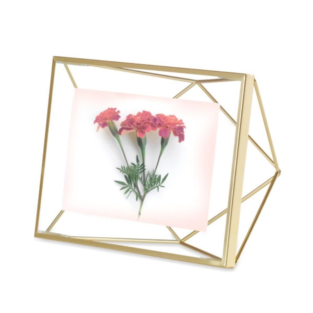 Ramka Prisma 10x15 cm złota