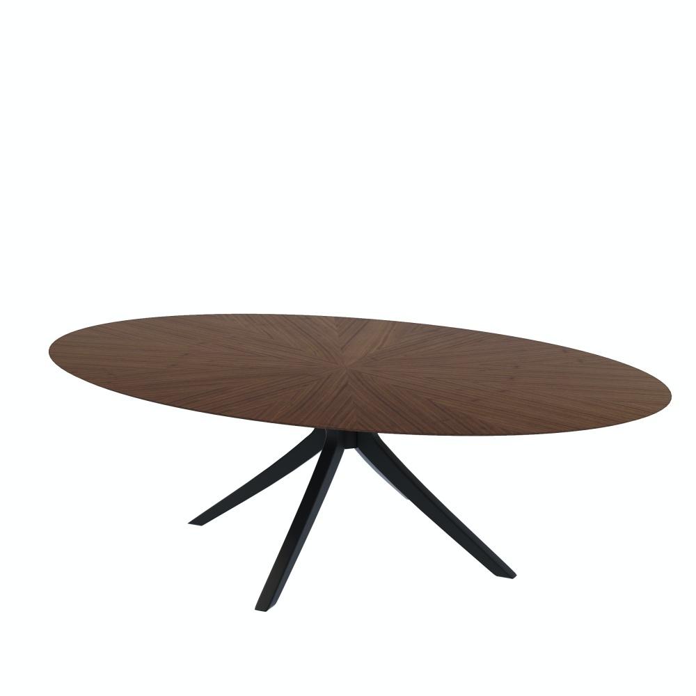 Stół owalny Odilio 180x110 cm