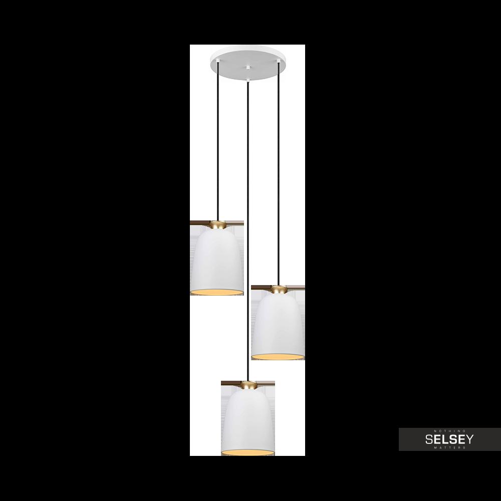 Lampa wisząca Sanchez x3 kaskada