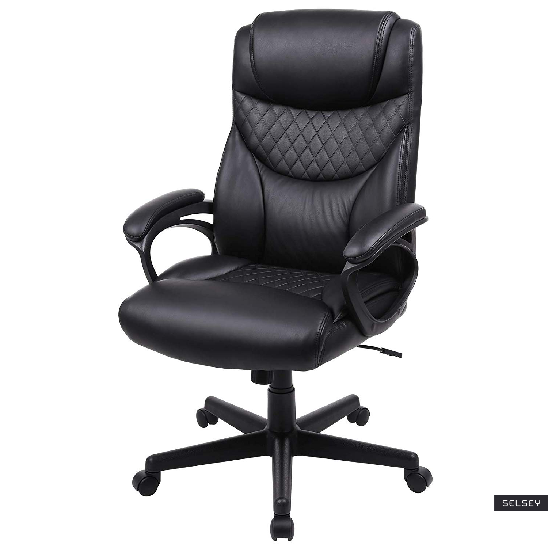 Fotel biurowy Walker czarny