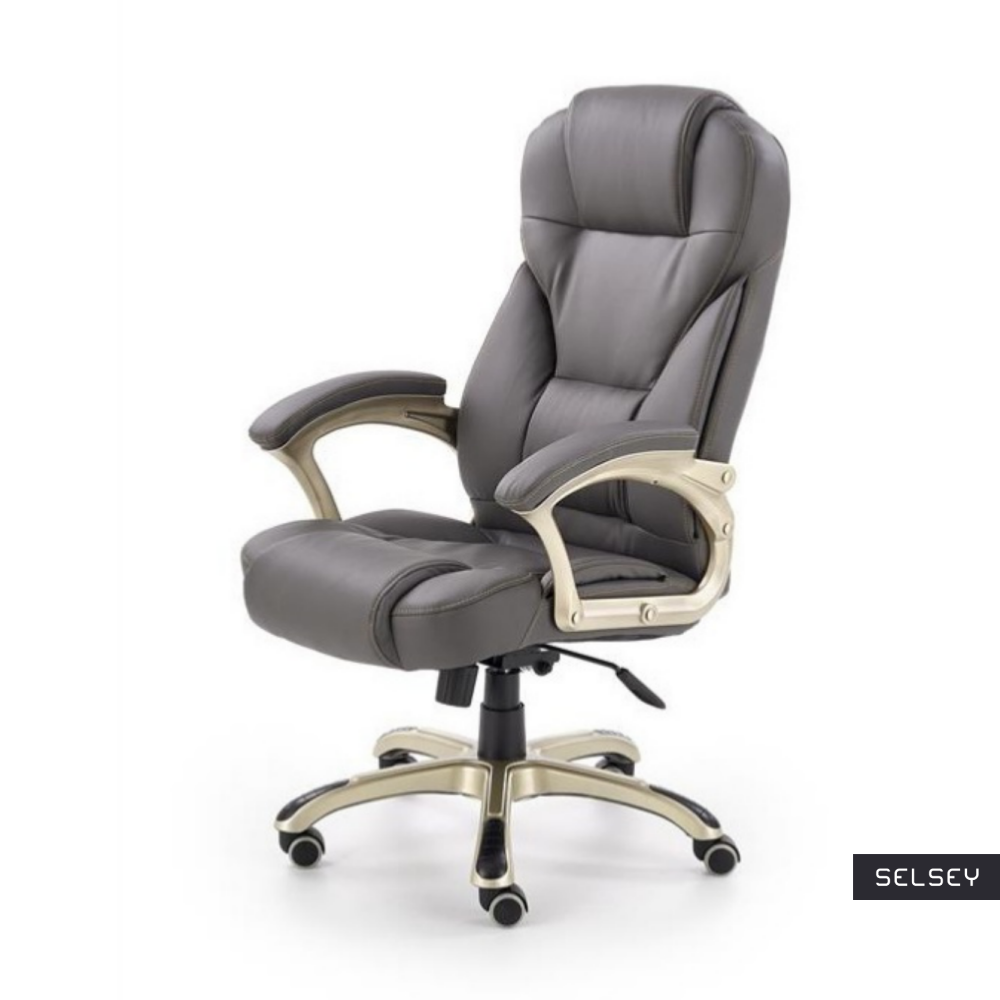 Fotel biurowy Perito jasnoszary