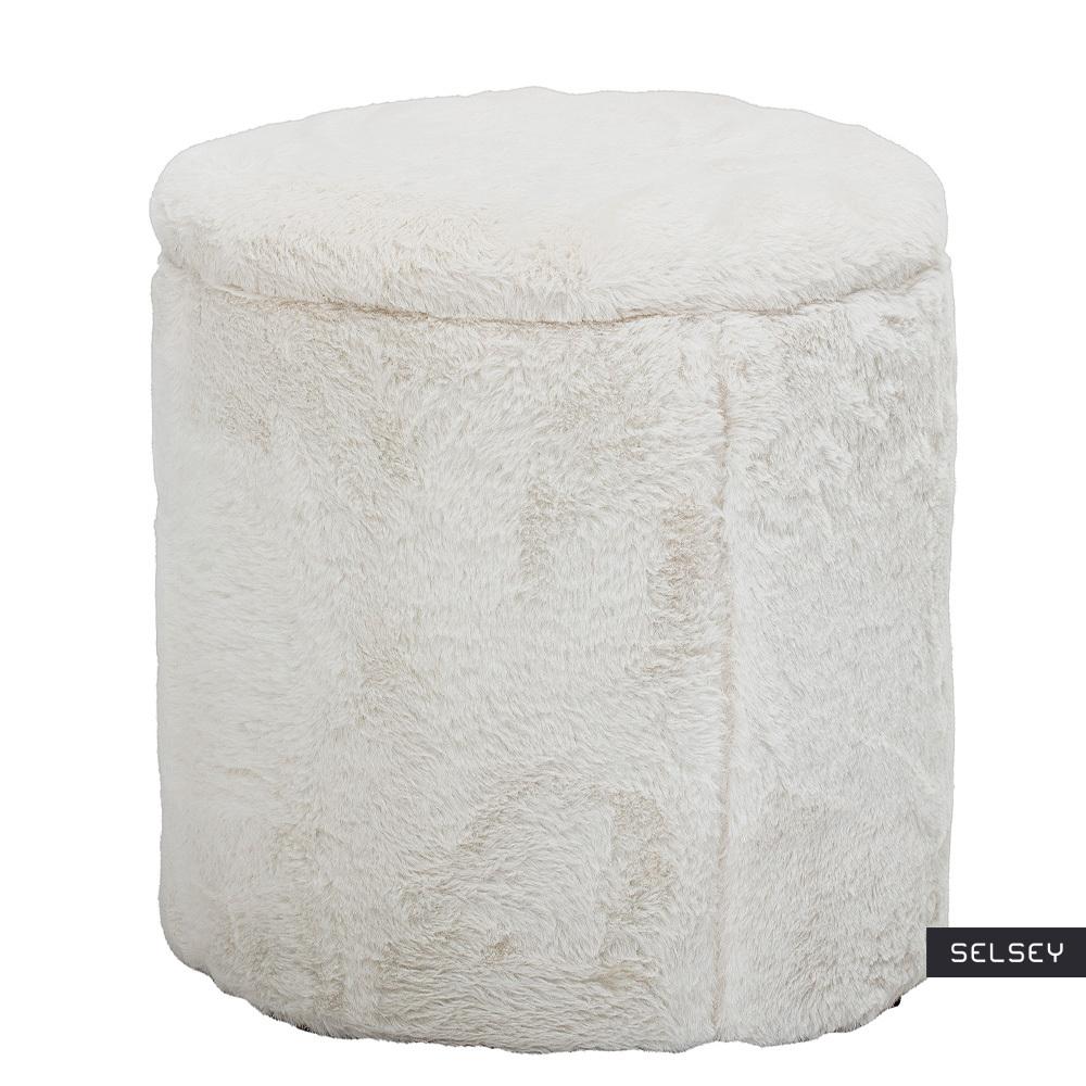 Pufa Seginus biała