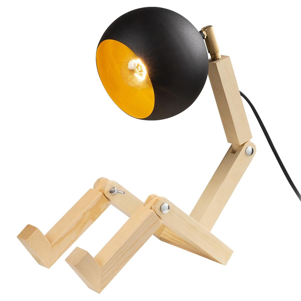 Lampa stołowa Lesser w kształcie człowieczka