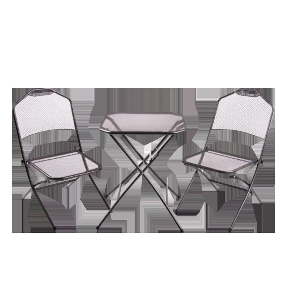 Zestaw ogrodowy Arizoith stół z dwoma krzesłami