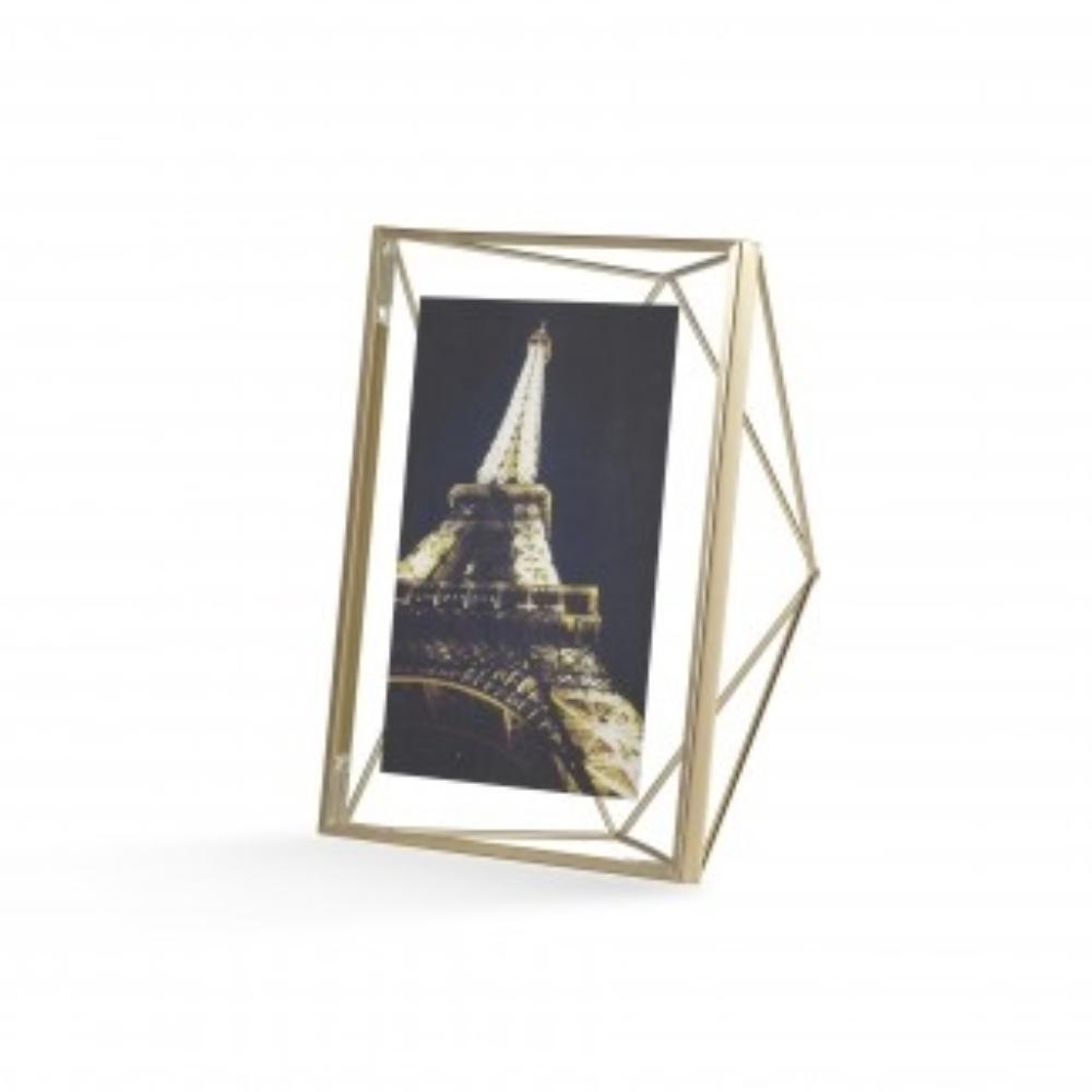 Ramka Prisma 13x18 cm złota
