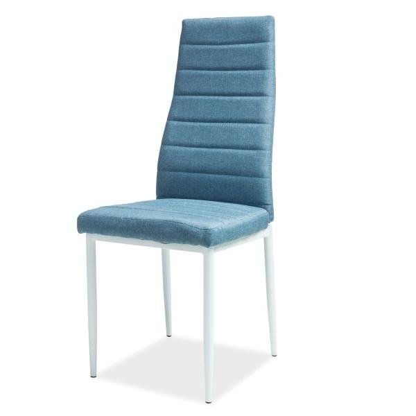 Krzesło Basedo niebieskie