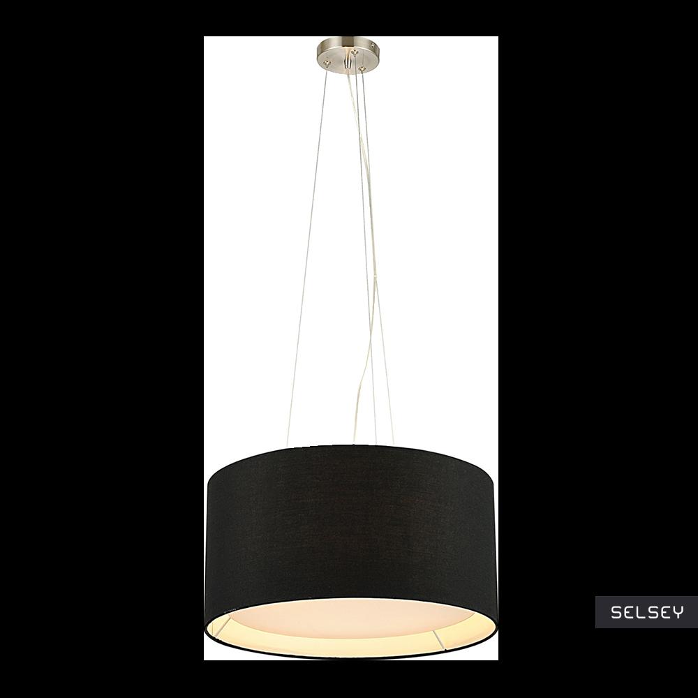 Lampa wisząca Nicolas czarna 50 cm