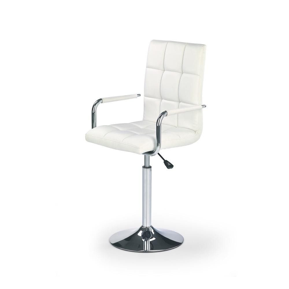 Fotel biurowy Gradin na chromowanej podstawie