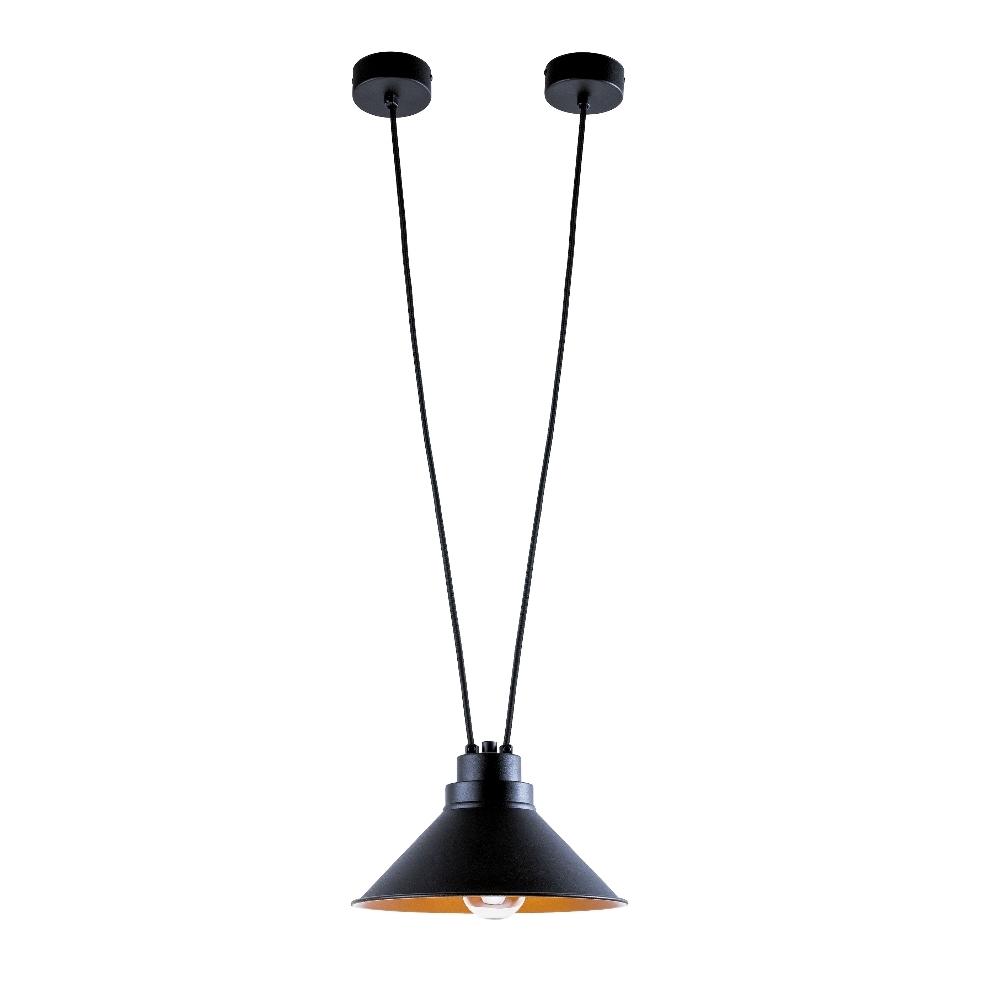 Lampa wisząca Perm x1 czarna 9148