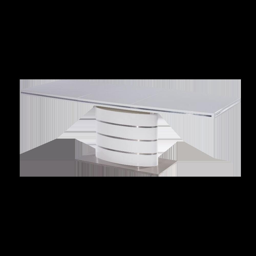 Stół rozkładany Vaster 140-200x90 cm biały