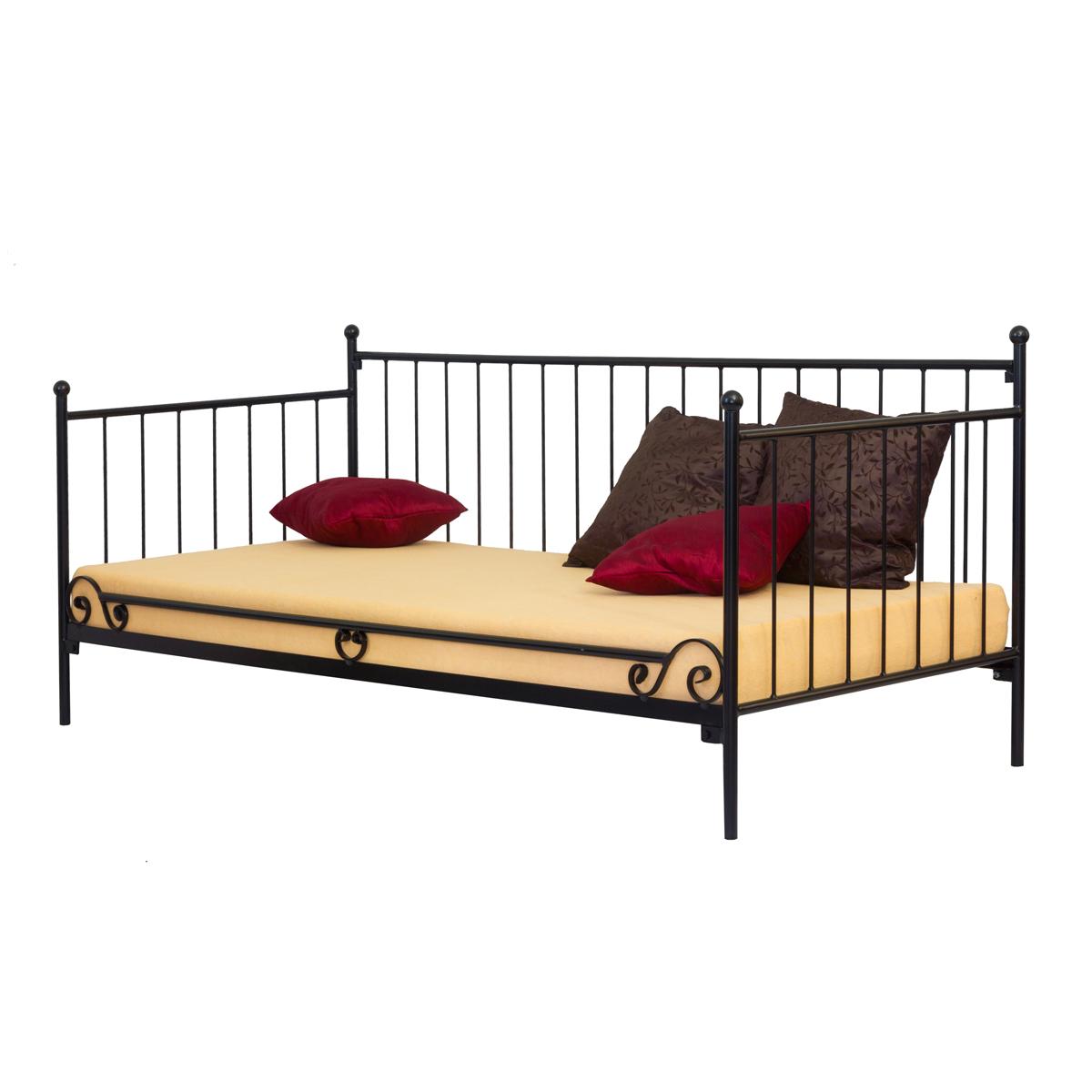 Łóżko metalowe Jordana