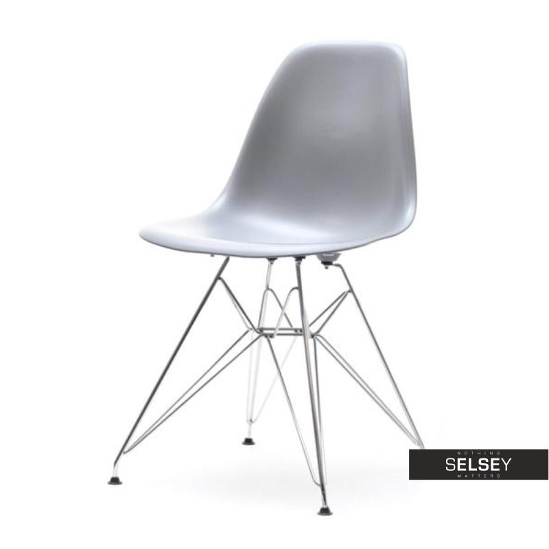 Krzesło MPC Rod szare industrialne