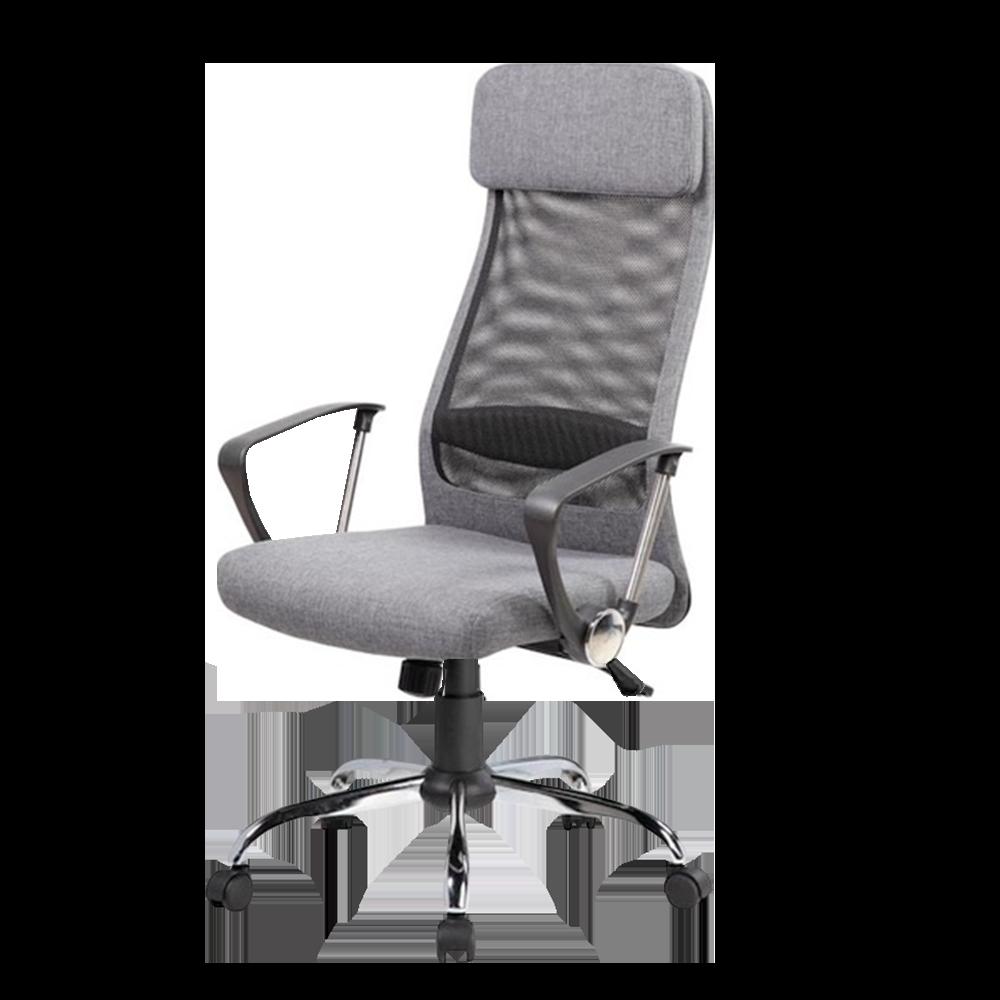 Fotel biurowy Della szary