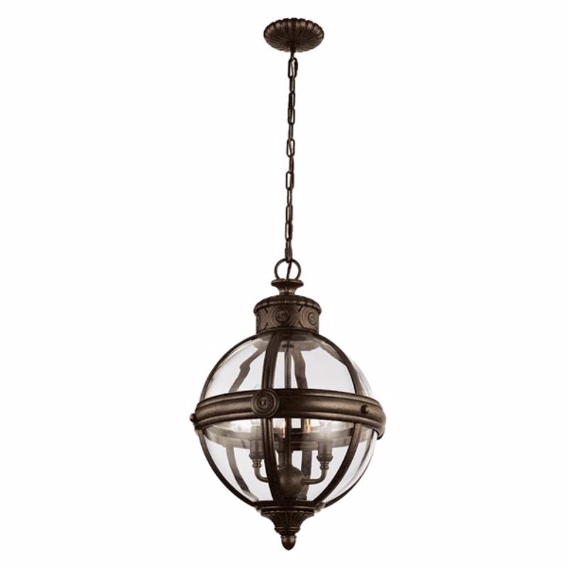 Lampa wisząca Adams bronze 37 cm