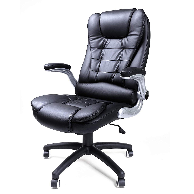 Fotel biurowy Levis czarny