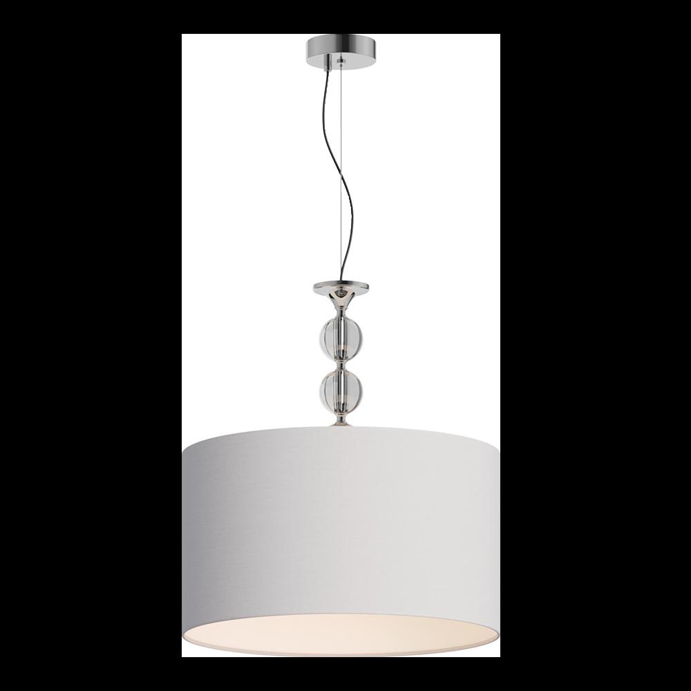 Lampa wisząca Crystal biała