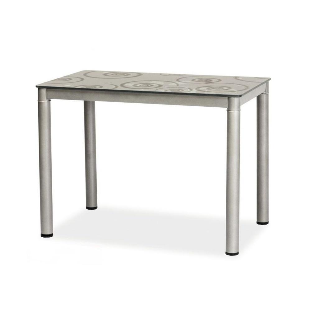 Stół Skast szary 80x60 cm