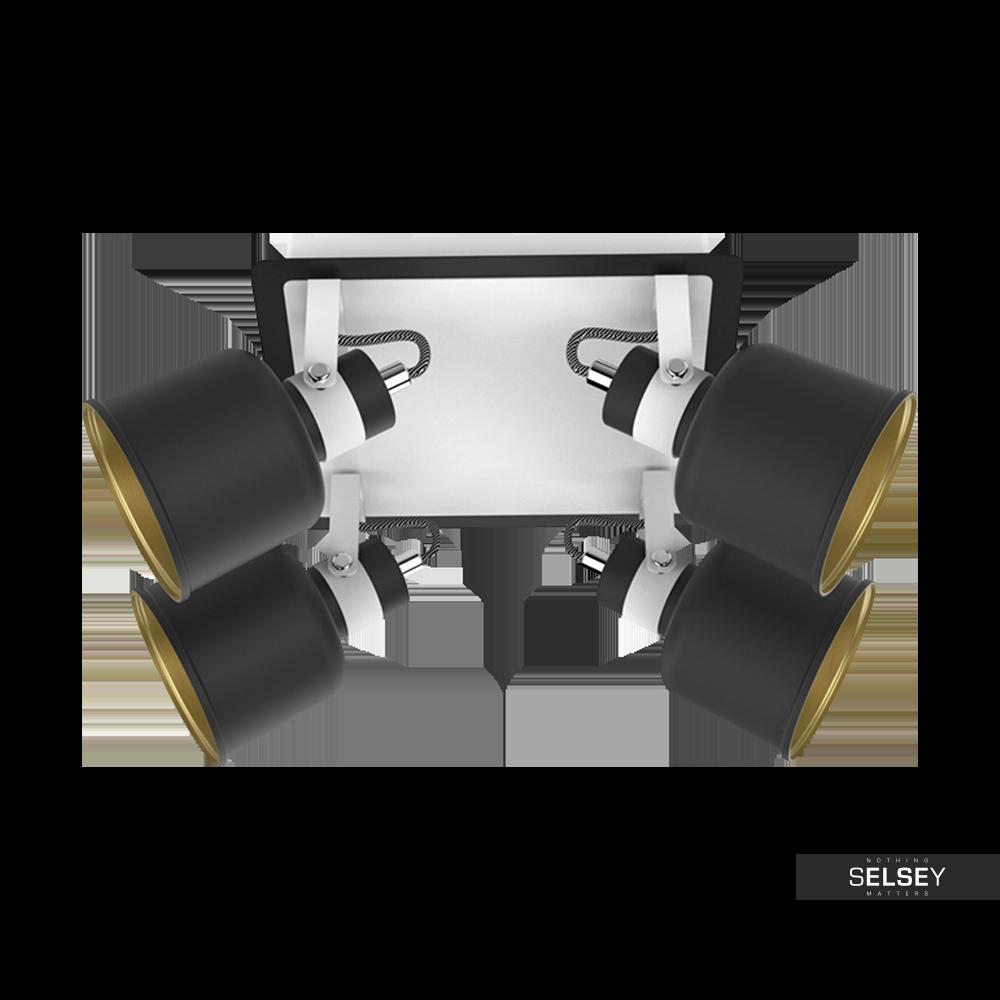 Lampa sufitowa Wilson x4