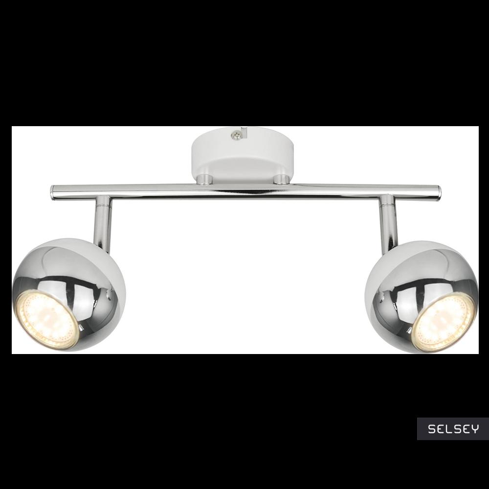 Lampa sufitowa Ceylon biała x2