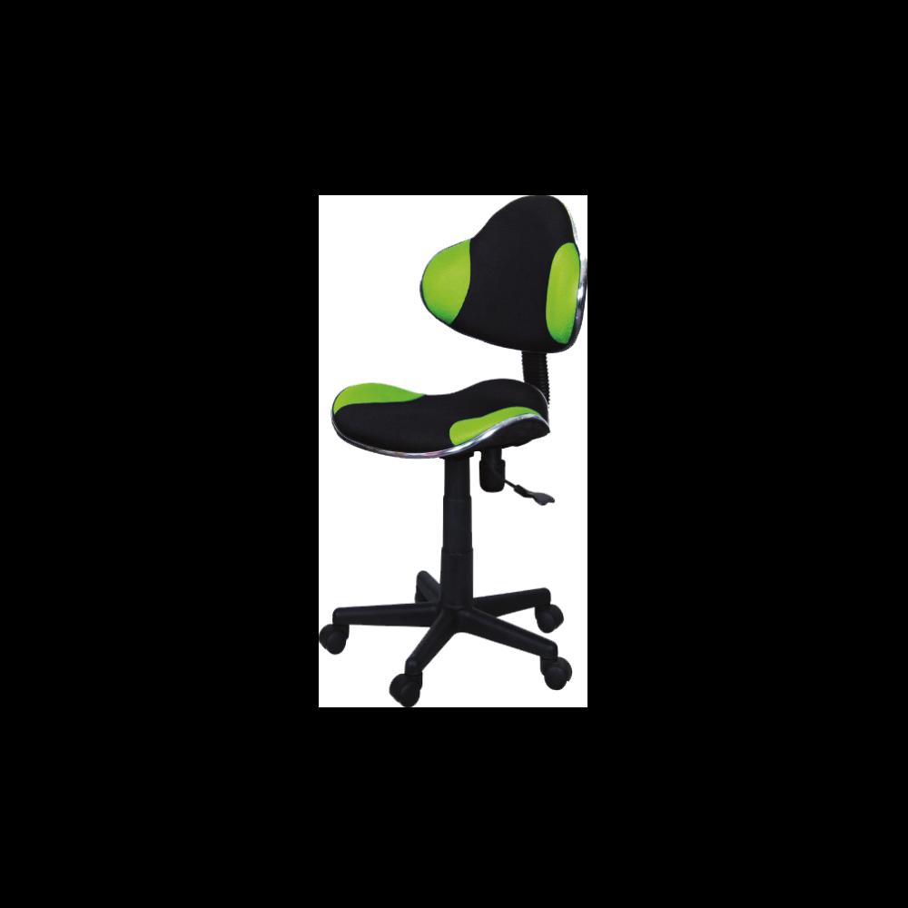 Fotel biurowy Morild czarno-zielony