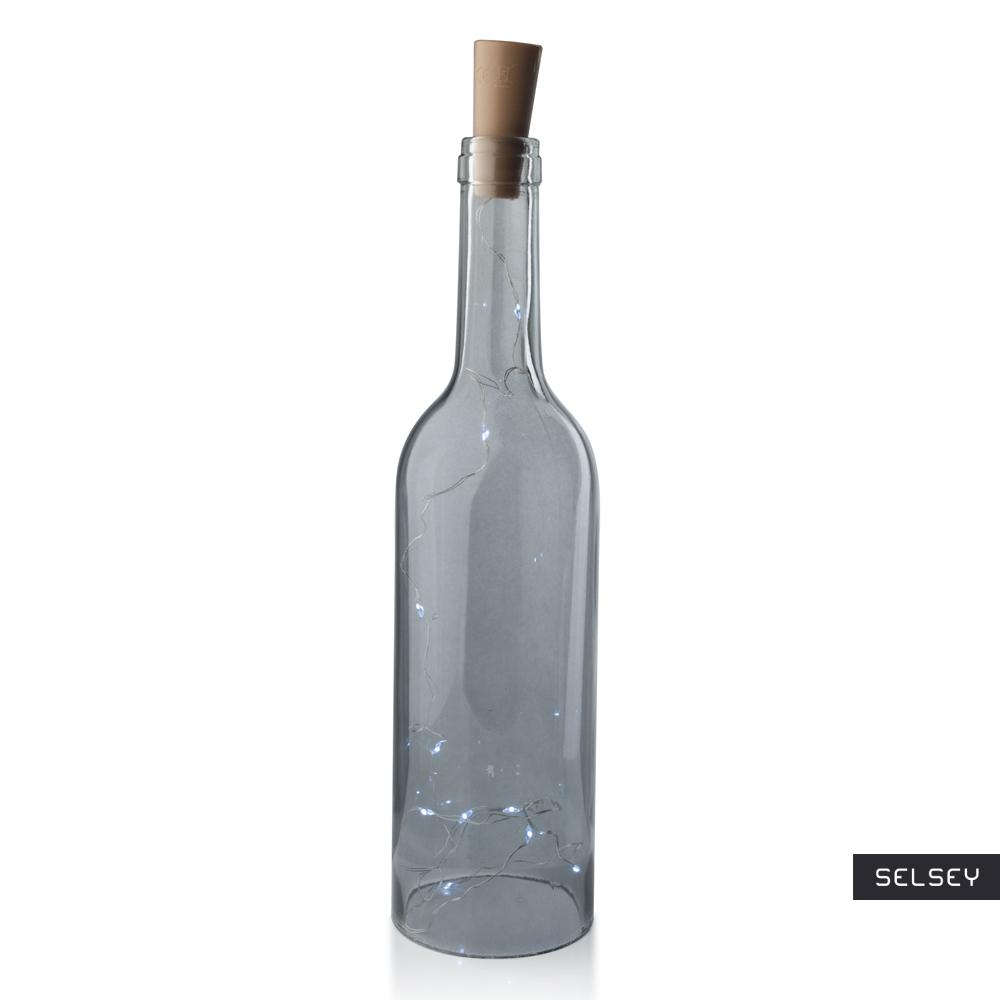 Dekoracja LED Bottle szara