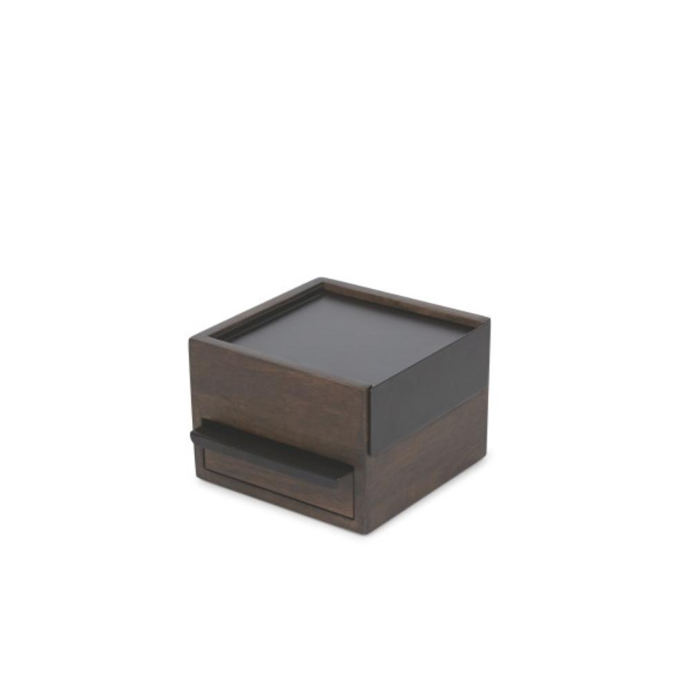 Szkatułka na biżuterię Stowit mini ciemna