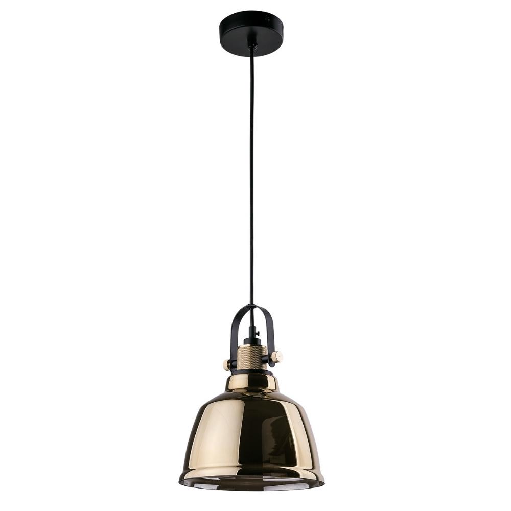 Lampa wisząca Amalfi złota średnica 20 cm 9153
