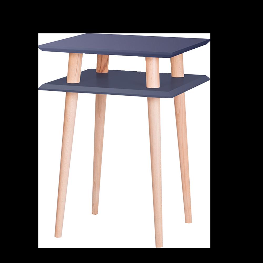 Stolik Snowbrowth kwadratowy 43x43 cm wysoki