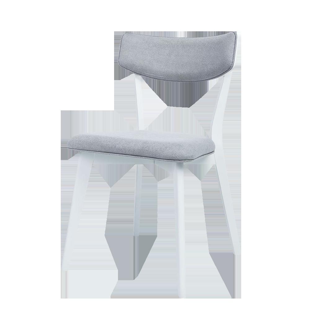 Krzesło Nylar z białą podstawą