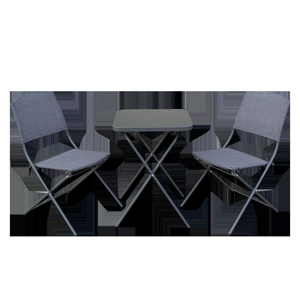Zestaw ogrodowy Dolore stół z dwoma krzesłami