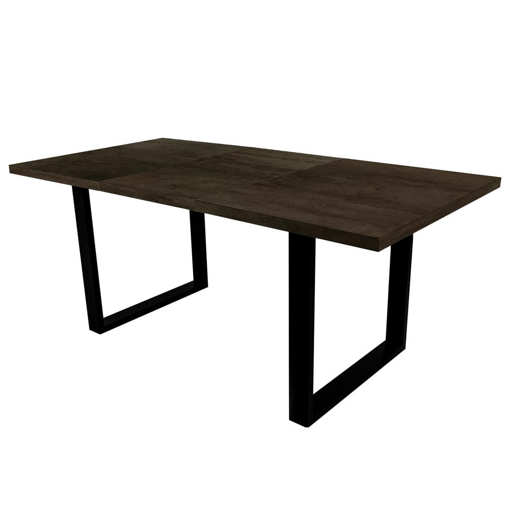 Stół rozkładany Lameca 180-230x90 cm czarny oxide