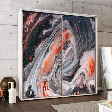 Szafa Wenecja 205 cm Dziki marmur