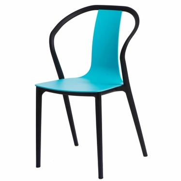 Krzesło Bella niebieskie