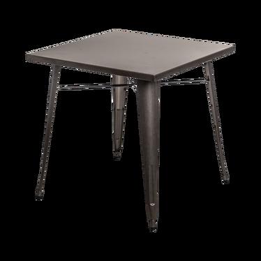 Stół Paris 76x76 cm metaliczny