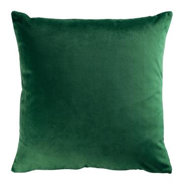 Poduszka dekoracyjna Sylvanca w tkaninie EASY CLEAN 45x45 cm szmaragdowozielona