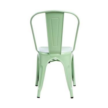 Krzesło Tolader zielone