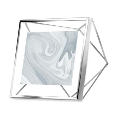 Ramka Prisma 10x10 cm srebrna