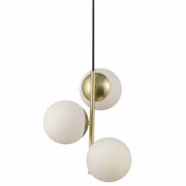 Lampa wisząca Lilly x3 złota