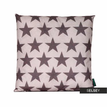 Poduszka z poszewką Skandynawia - Gwiazdy