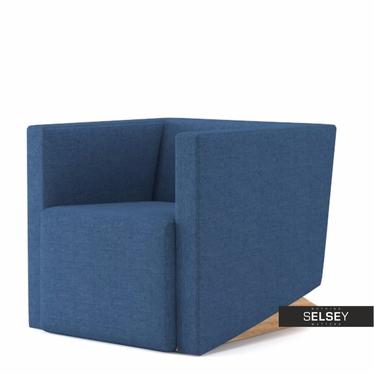 Fotel Plain 18 niebieski ciemny
