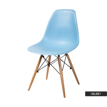 Krzesło Hasle niebieskie